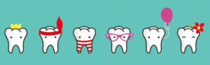 high teeth banner